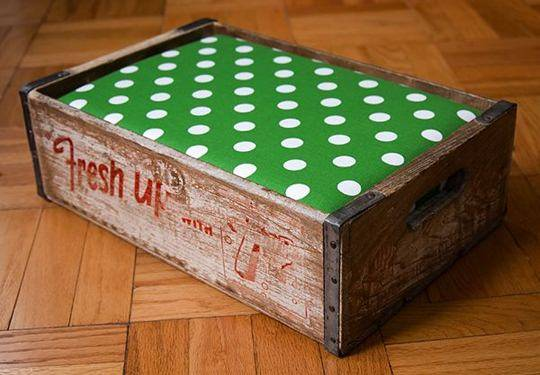 NEXUS sobe no caixote
